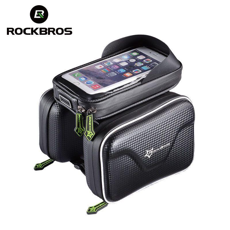 """Rockbros Cadre Sac Sacoche de Vélo Sac Téléphone étanche 5.8/"""" et 6.0/"""""""
