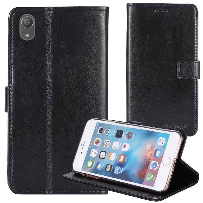 YLYH TPU silicona cuero protegerá del gel de goma cubierta de caja del teléfono para Sony Xperia XA XA2 Estuche Piel Ultra Plus XA1 XZ premium bolsa Shell Monedero