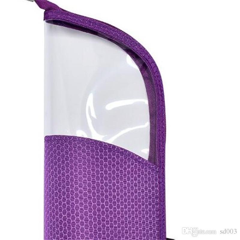보관 주머니 2019 새로운 스타일 눈썹 연필 씻어 및 화장품 가방을 씻어 여성 방수 저장 패키지 반원형 투명 11 5hd p1