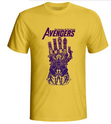 2019 New Avengers 4 Endgame T Shirt Infinity War End Gioco Thanos Tshirt Novità T-Shirt Estate Manica Corta Uomo Donna Tee K1115