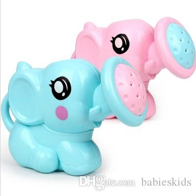 Bella Elephant plastica Forma dello spruzzo d'acqua per il bambino Doccia Piscina Giochi per bambini regalo di compleanno di trasporto di goccia Vendita fare la doccia
