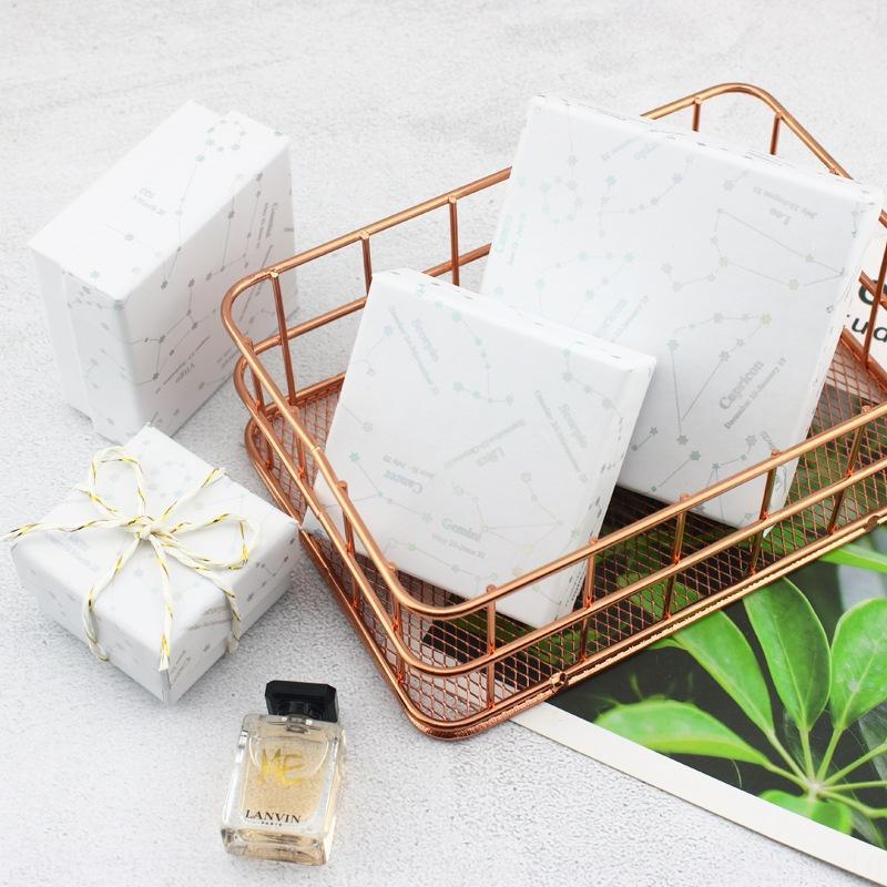 Yaratıcı Yıldız takı bilezik kolye oniki takımyıldızı hediye kolye bilezik kutusu hediye kutusu