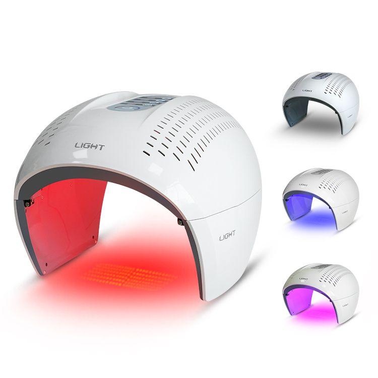 حار بيع آلة PDT العلاج أدى ضوء الأحمر الأزرق BIO العلاج بالضوء الجمال جهاز للعناية بالبشرة