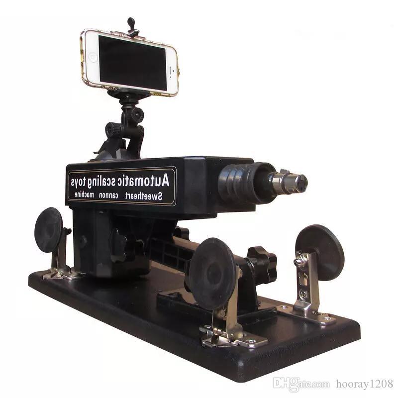 Автоматический секс-пулемет с Bluetooth Фотография и видео Женские игрушки мастурбации 0-450 раз / мин