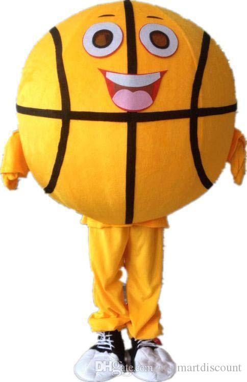 2019 بيع المصنع مباشرة كرة السلة التميمة الكرتون appearl هالوين عيد الميلاد الكارتون كرنفال تنكرية أطقم البدلة