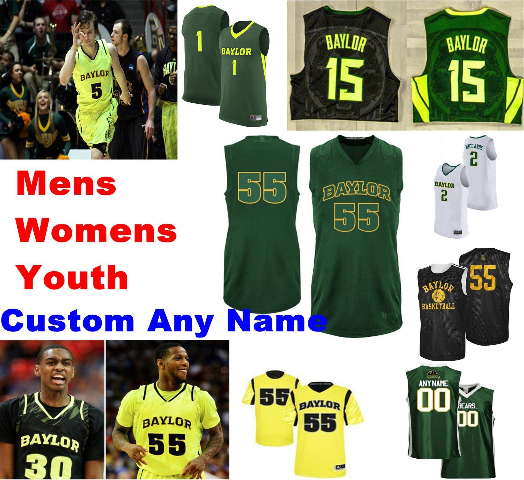 Baylor Bears jerseys Jared Mayordomo Jersey Jackson Moffatt Obim Okeke Jonathan Tchatchoua Mateo Mayer jerseys del baloncesto cosido personalizada