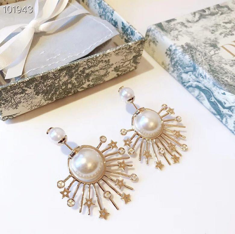 مجوهرات بالجملة، Tribales النحاس الشرابة كريستال زهرة الشمس نجم سحر الأبيض وأقراط اللؤلؤ للنساء