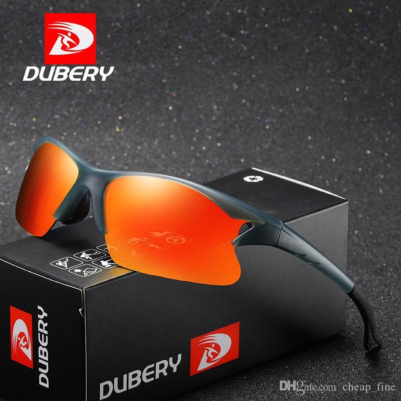 DUBERY Sport Polarisierte Sonnenbrille Männer Driver Shades Männlich Vintage Sonnenbrille Für Männer Beschichtung Spiegel Sommer UV400 458