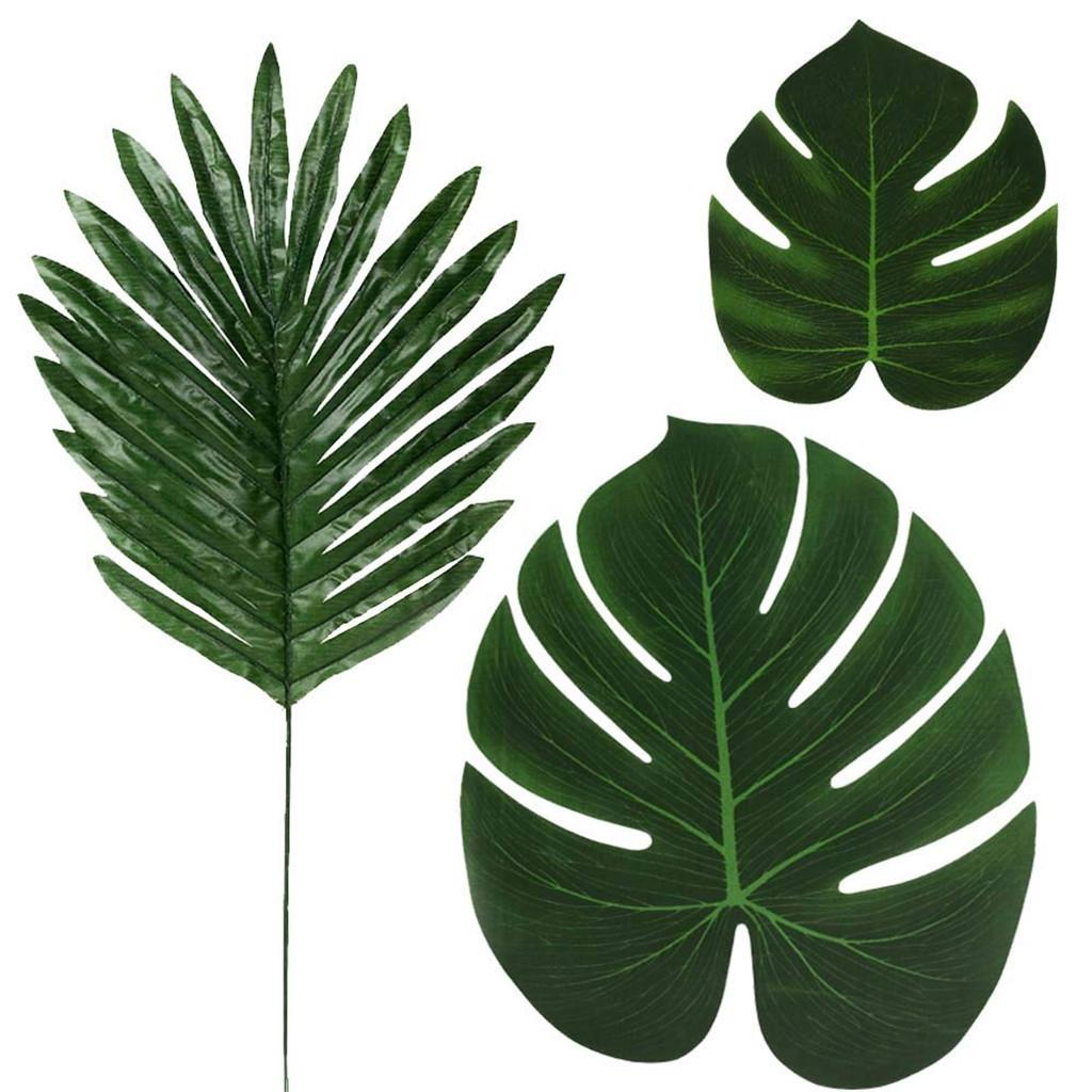 2020 Artificial Monstera Plants Tropical Palm Tree Leaves Home Garden Decoration Accessories Photography Decorative Leaves From Linita 22 11 Dhgate Com