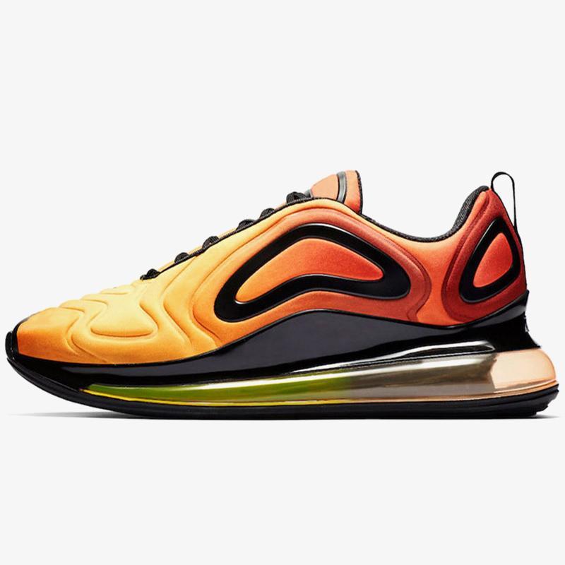 Sunset Sunrise 72c koşu ayakkabıları 2020 Toptan Deniz Orman kadın erkek Beyaz Siyah Altın Gerçek Minder Tasarımcı Eğitmenler Sport Sneakers Be Bred