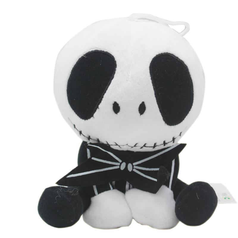 20-25cm 2 styles 2020 The Nightmare Before Christmas Jack Skellington in Suit Plush Toy Stuffed Doll Gift for Kids