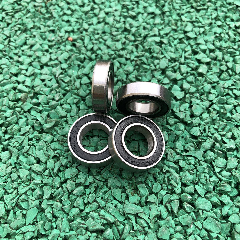 Hybrid Ceramic Rubber Ball Bearing Bearings 6806RS 30x42x7 mm 6806-2RS QTY 4