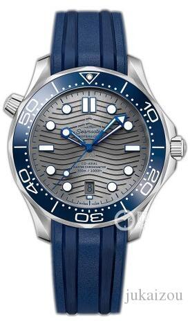 2019 2020 Neuesten LuxuxMens Beruf 300 m James Bond 007 blaues Zifferblatt Saphir-automatische Uhr Herrenuhr a2