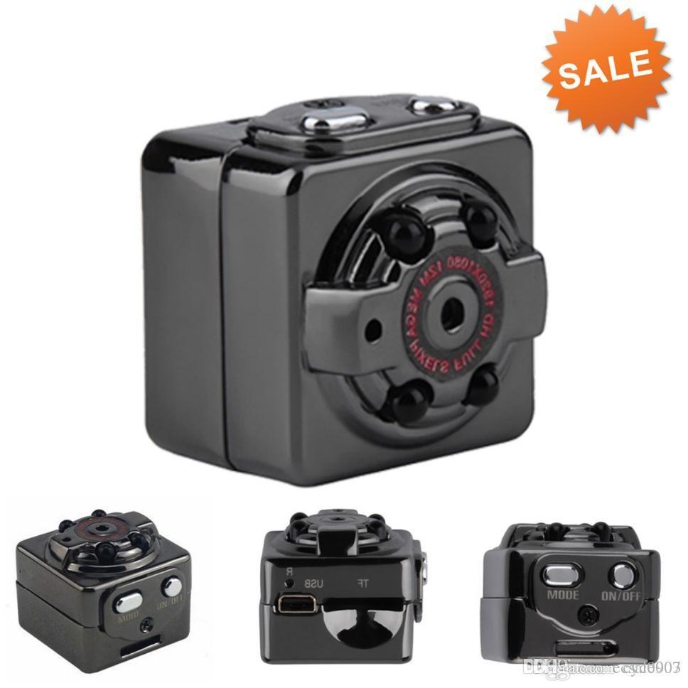 100% Qualitäts-SQ8 Mini-Sport-DV-Kamera 1080P volles HD-Auto DVR 12MP SJ4000 Cam-Camcorder-Sprachvideorecorder