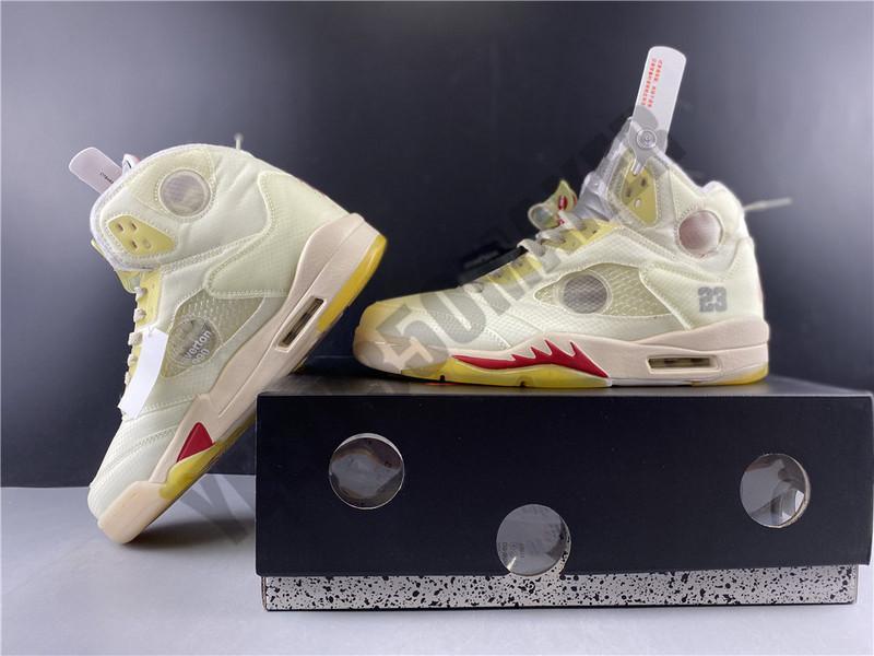 scatola OG sconto Crema Jumpman 5 5s 3M laccio metallico bianco Pattini di pallacanestro del Mens Athletic sneakers sport Designers Formatori CT8480-0020 7-13