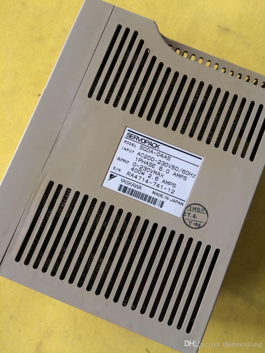 Yaskawa Sigma I SGDA-04AS 400 Вт сервомотор с ЧПУ бесплатная ускоренная доставка используется в лучшем состоянии