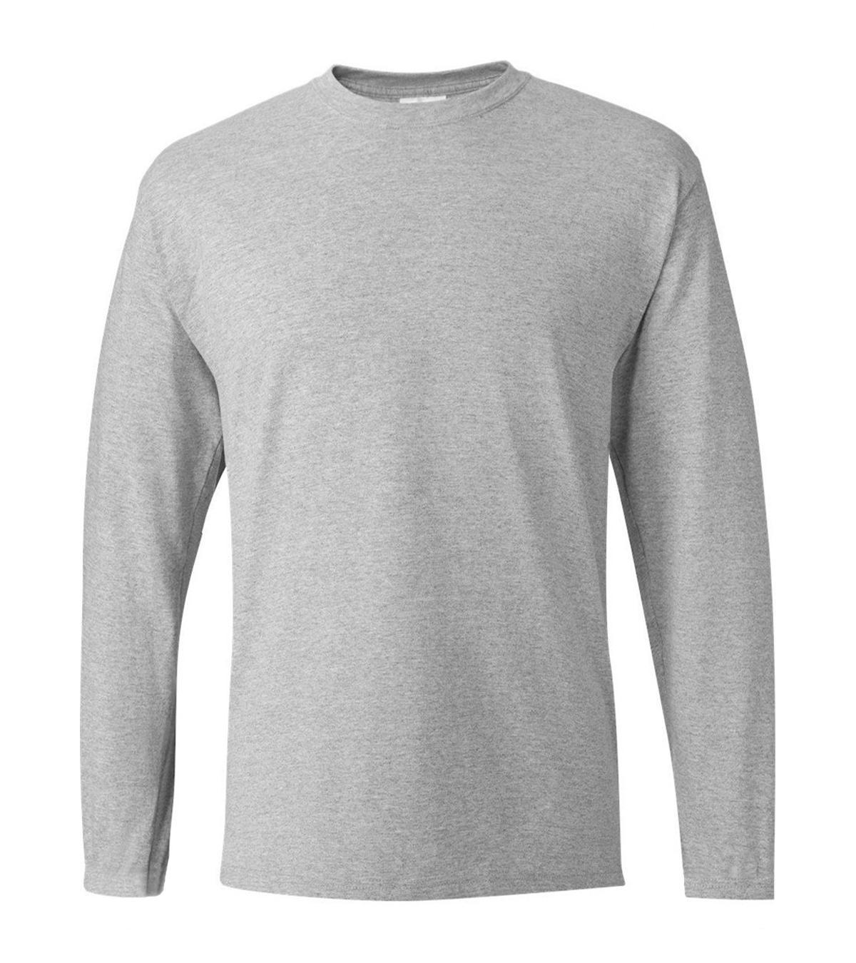Твердые футболки с длинным рукавом для мужчин 2019 Горячая осень хлопок повседневные футболки Blant Черный Белый Серый Красный Темно-синий Мужская одежда бренда