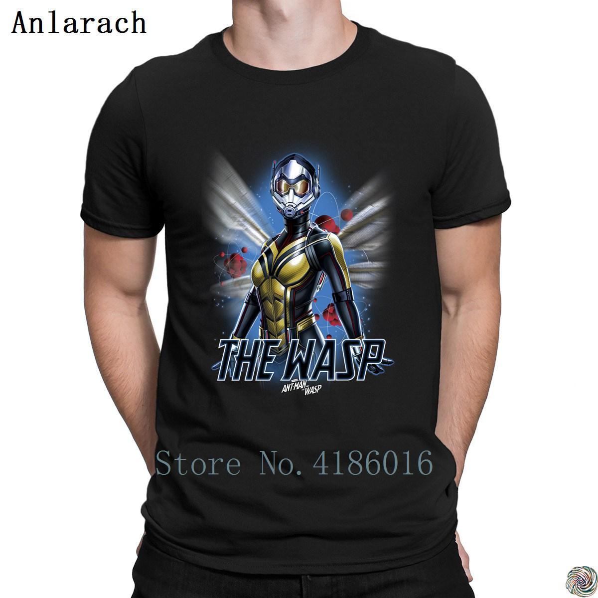 Avispa Atom camisetas HipHop Tops personalizado familia de los hombres del homme camiseta tamaño famoso S-3XL verano básico