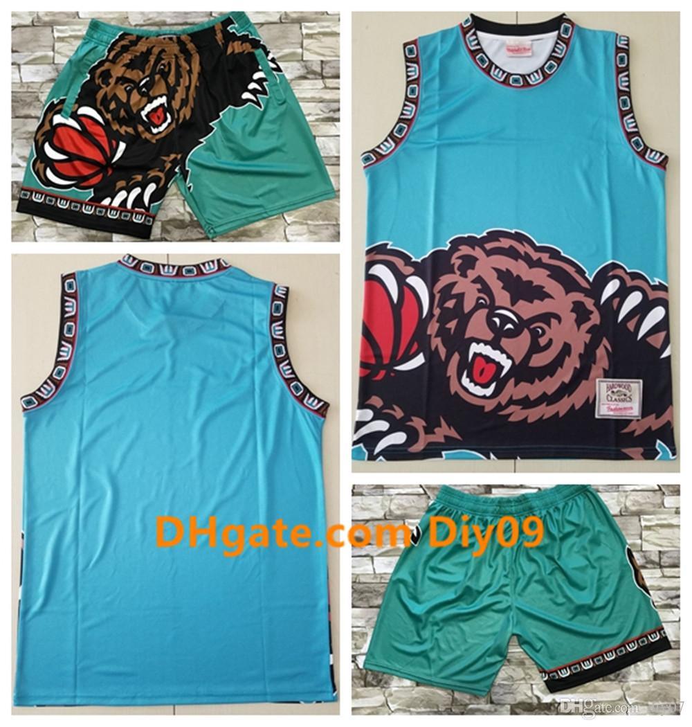 Vintage MemphisGrizzliesBasketball Tout Don Short Jersey Big Face Ja Morant Jaren mixteNBA Mitchell Ness Shorts Maillots