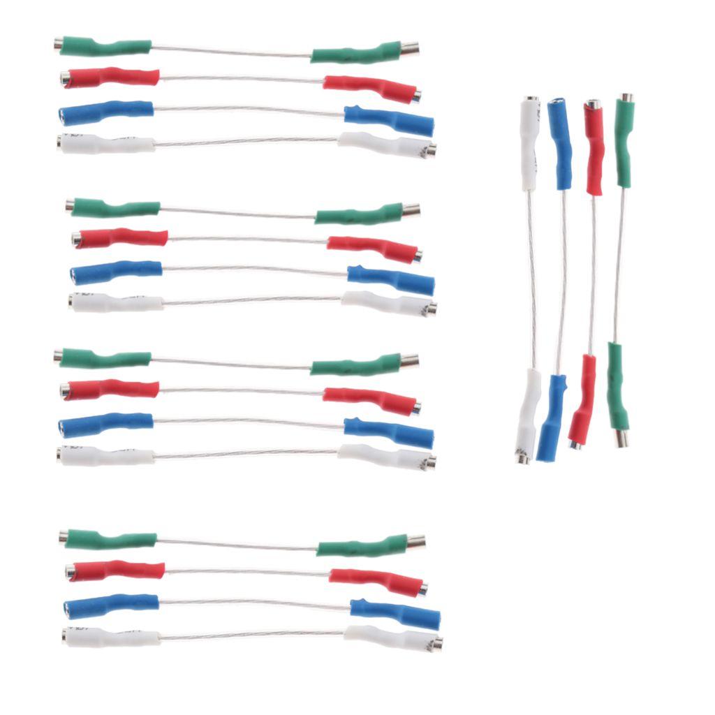 20 Fili Pezzi giradischi Phono Cartridge Headshell