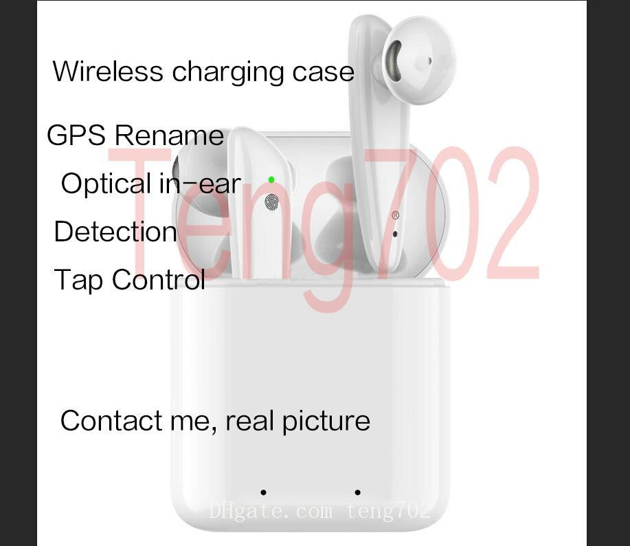 GPS إعادة تسمية AP2 AP3 توس سماعة بلوتوث سماعات الأذن H1 رقاقة سماعات لاسلكية الشحن حالة كشف بصري حاضن PK الهواء 2 3 برو I12