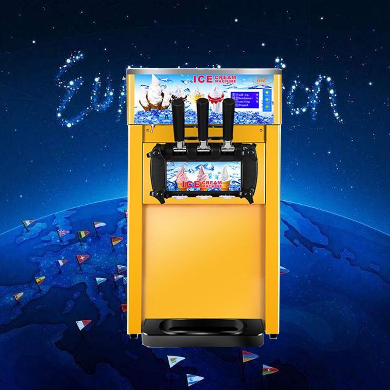 CE-сертифицированный из нержавеющей стали высокого качества с хорошим немым эффектом, большой мощностью и быстрой скоростью мягкого мороженым