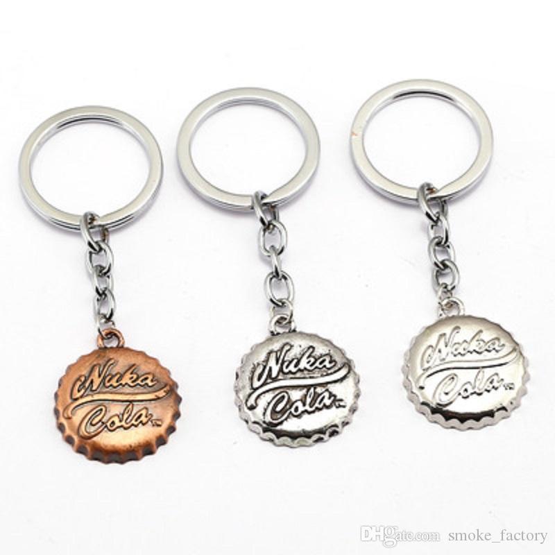 Fallout Franchise Inspired Nuka Cola Bottle Opener keychain//Keyring
