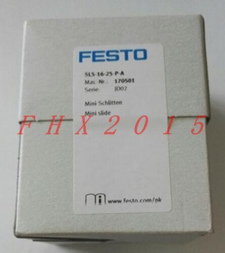 BİR YENİ FESTO Slayt Silindirler SLS-16-25-P-A 170501