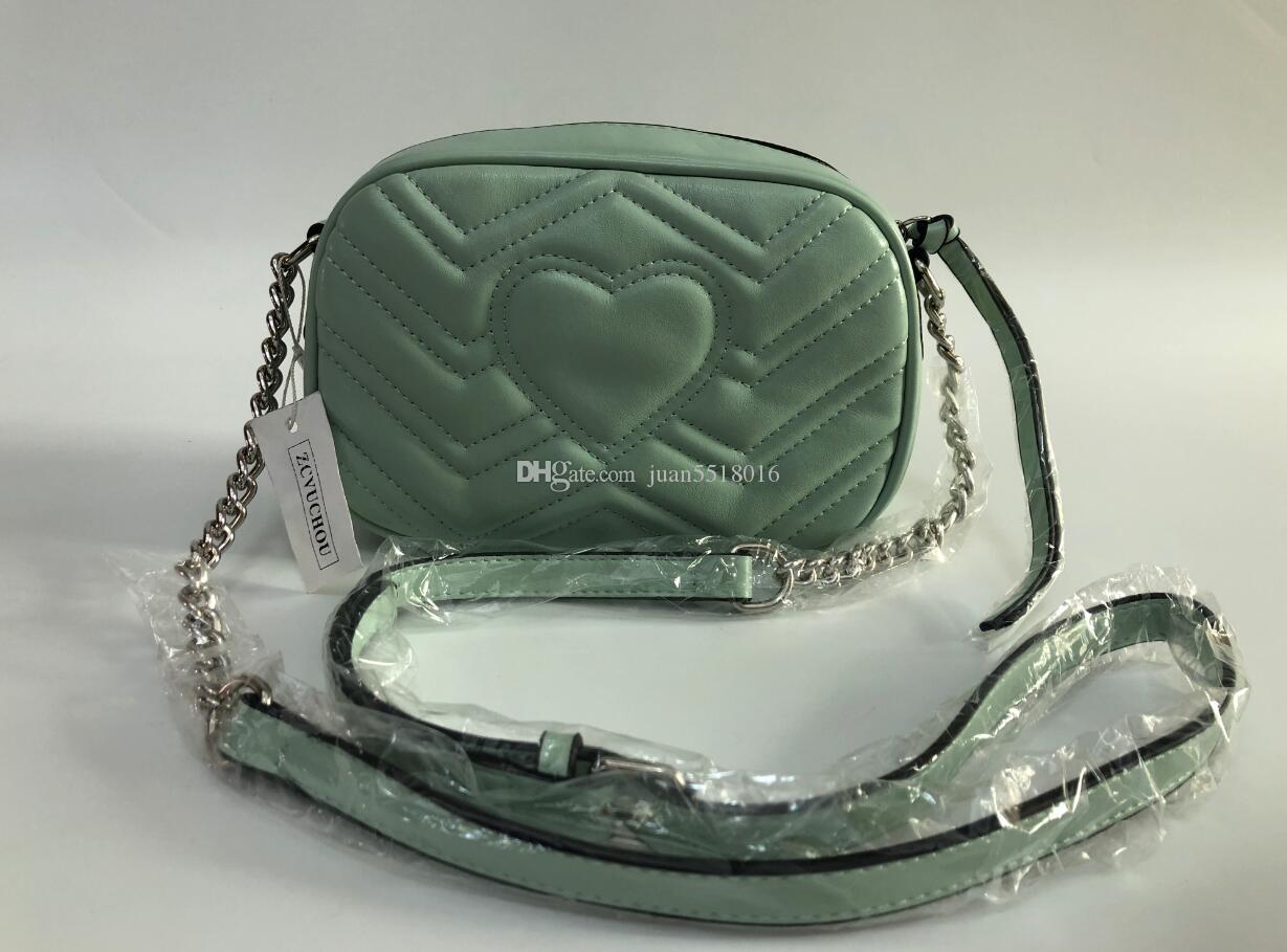 Neueste Art berühmte Marke Die beliebtesten Luxushandtaschenfrauen-Designer feminina kleine Tasche Brieftasche 21CM