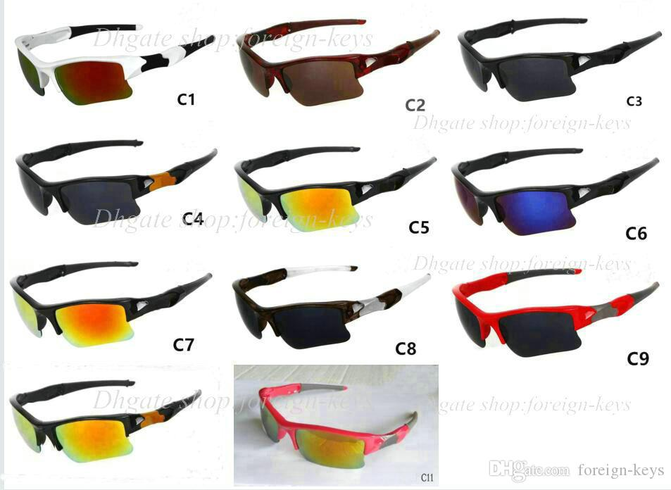 New Cool Men Women sunglass Mode Outdoor Radfahren Sonnenbrillen Goggle Sport Sonnenbrille kostenloser versand 11 color