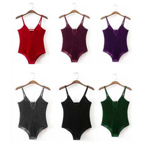 Women Girl Fashion Swimsuit One Piece Swimwear Velvet Bandage Sexy Bathing Suit bodysuits Overalls Leotard catsuit for women