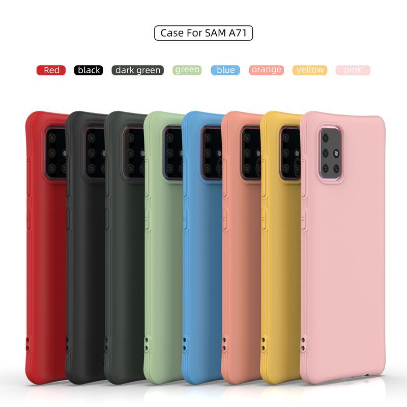 İnce Bel Darbeye Yumuşak TPU Kılıf iPhone 11 Pro Max 8 7 6 Samsung S10 S20 Ultra S10e A51, A71 A11 A41 A30, A50 A30S A50S A70 J4 J6
