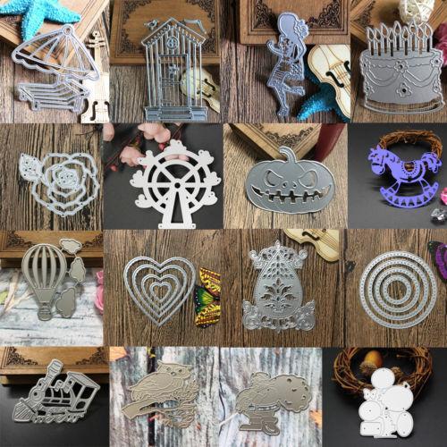 Taglio dei metalli Dies Stencil Scrapbooking goffratura Die Cut Paper Photo Craft