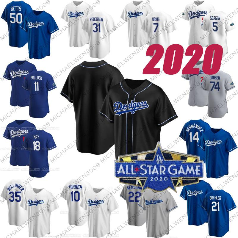 35 Cody Bellinger 2020 LA Dodgers Mookie Betts Hernandez Turner Pollock Seager Buehler Muncy Pederson Smith Clayton Kershaw Martin Formalar