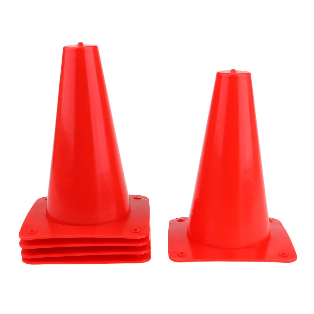 5pcs 15cm Safety Cone for Sports Training Soccer Agility Skateboard Skating