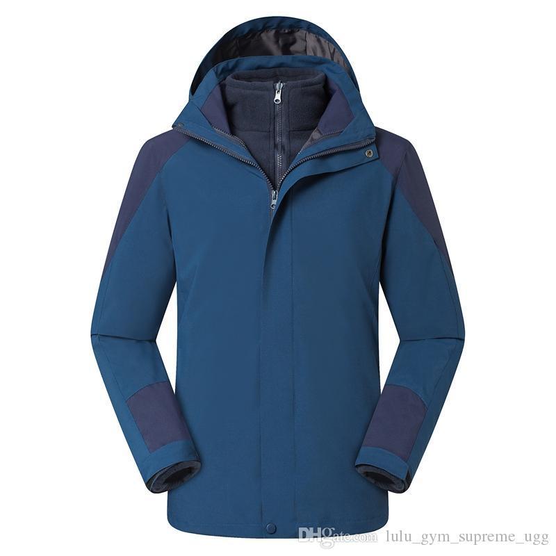 erkekler kadın için ceketler stormsuit iki parçalı tırmanma ve balıkçılık takım elbise WINDBREAKER Açık yelekleri Kapüşonlular yüzü hiç durma explor hiçbirşey