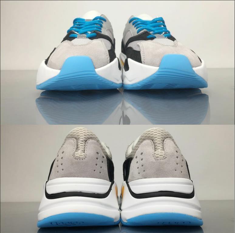 700 Wave Runner Geode Männer Frauen Laufschuhe Mauve Salz 700 V2 Static Kanye West Designer Schuhe Sportschuhe