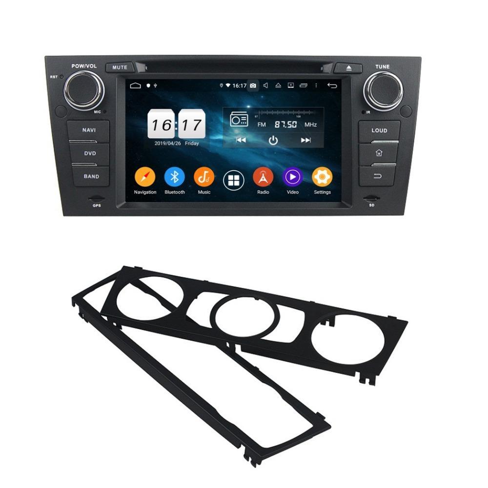 """1024 * 600 Octa Core 1 DIN 7"""" Android 9.0 del coche DVD GPS para BMW E90 E91 estéreo E92 E93 radio Bluetooth 4.2 WIFI 4 GB de RAM 32 GB ROM"""