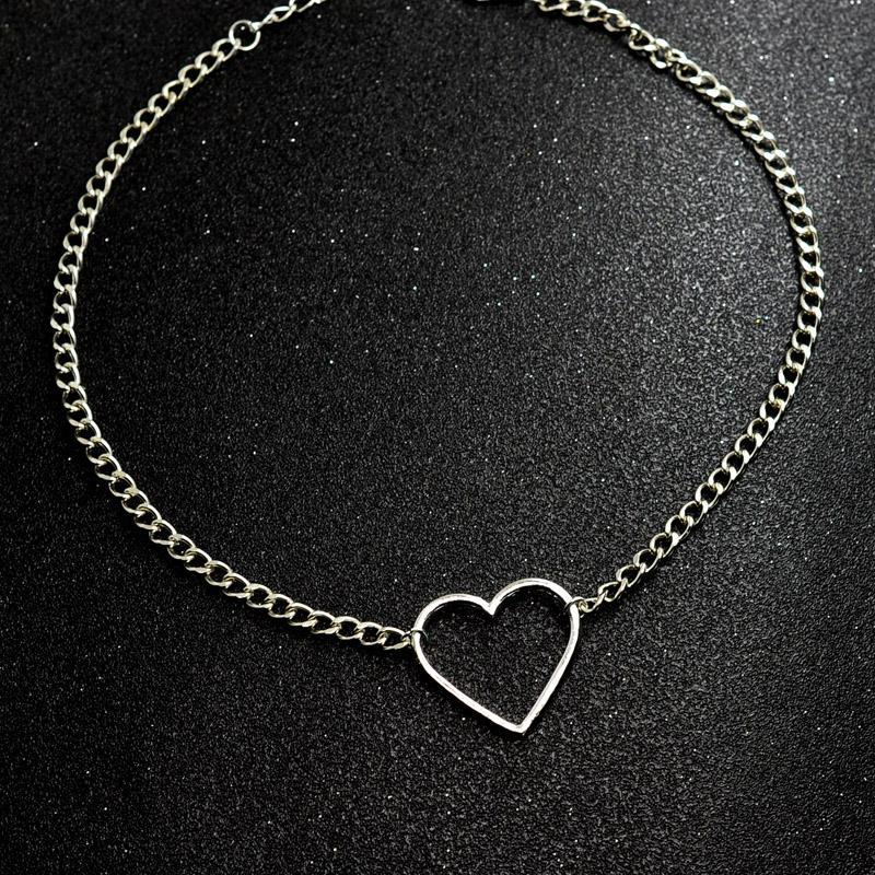ALYXUY новая мода ювелирные изделия старинные полые сердца колье ожерелье подарок для женщин девушка красивый воротник ключицы ожерелье N2058
