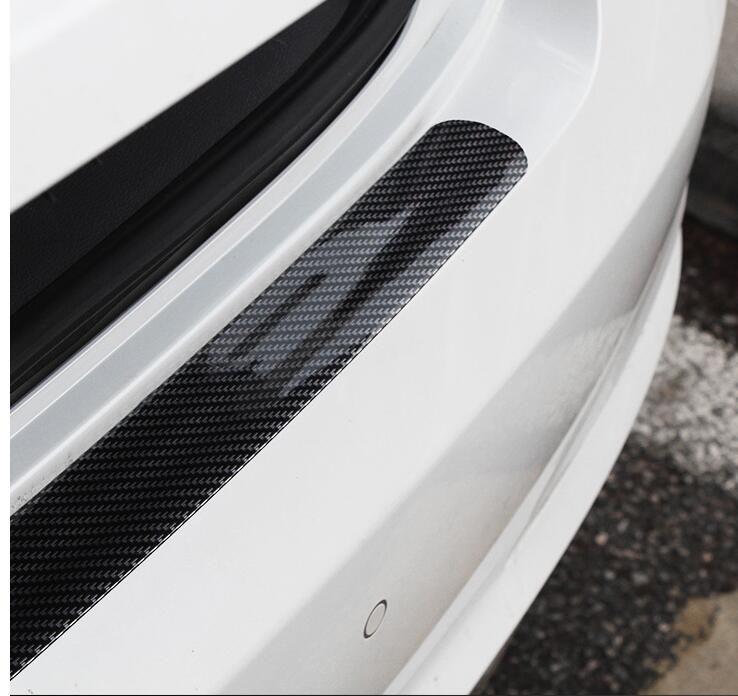 자동차 도어 씰 반대로 보편적 인 리피터 페달 장식 스트립 탄소 섬유 범퍼 자동차 도어 사이드 범퍼 스티커