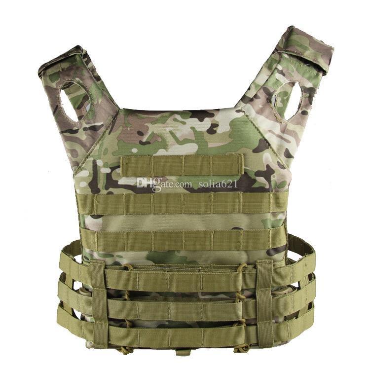 Caccia tattico Accessoris Body Armor JPC portante del piatto della maglia Mag Chest Rig Softair attrezzature di carico Orso Gilet mimetico