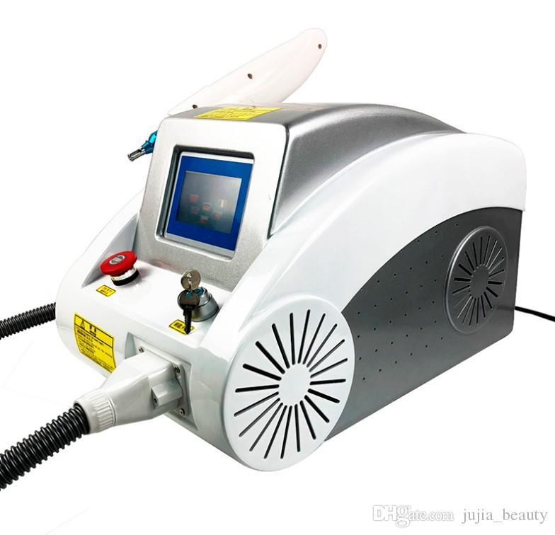 Q anahtarı 1320nm / 1064nm / 532nm yag lazer dövme çıkarma makinesi
