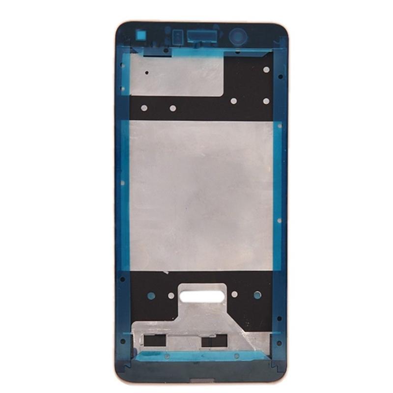 Para Huawei Y7 prime Disfrute de 7 Plus Pantalla LCD Placa de marco Bisel Cubierta de la cubierta Frente A Marco Placa Marco medio Piezas de repuesto