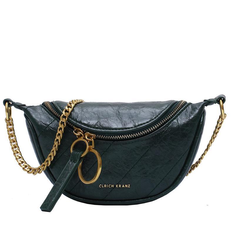 حقائب الكتف الفاخرة حقيبة يد للنساء نصف جولة رسول حقيبة شخصية المرأة الحافظة حقيبة صغيرة crossbody الأزياء