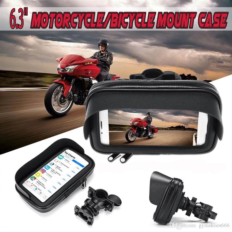 Custodia Supporto Impermeabile Bici Moto per Smartphone iPhone
