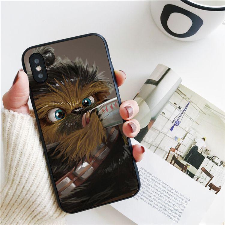 Capa Luxe Chewbacca Drink Bébé Pour IPhone 11 Pro Xs Max Xr Pour IPhone 8 7 6s Plus SE Étui Souple 5S De Couverture De Silicone. Proposé Par ...