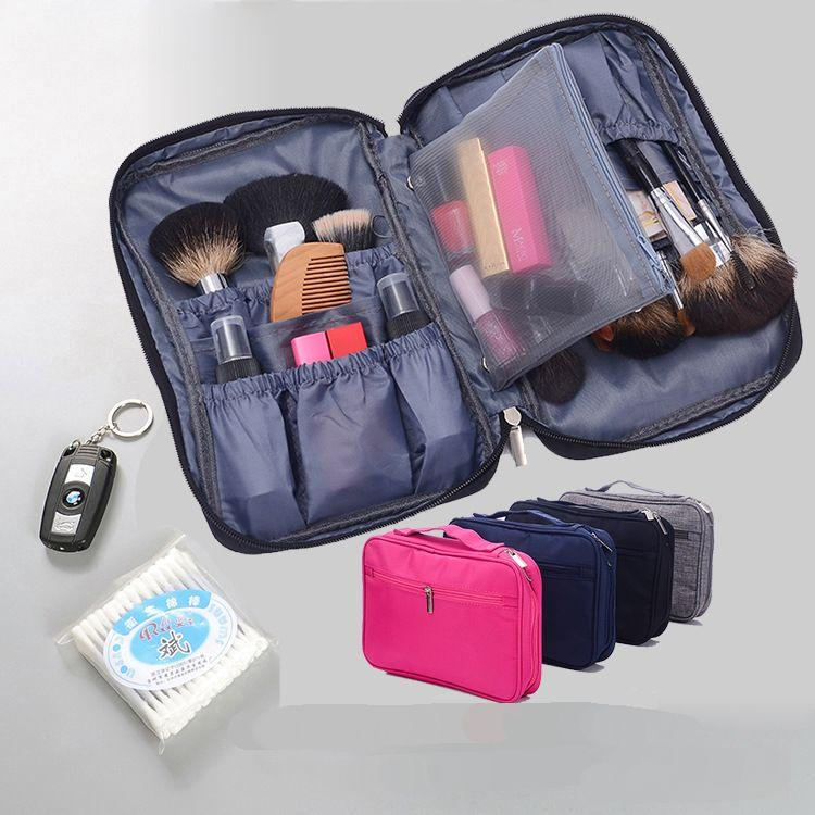 Professional Makeup Bag Large Capacity Travel Organizer Cosmetic Bag Makeup Box Case Beauty Salon Tattoos Nail Storage CN283