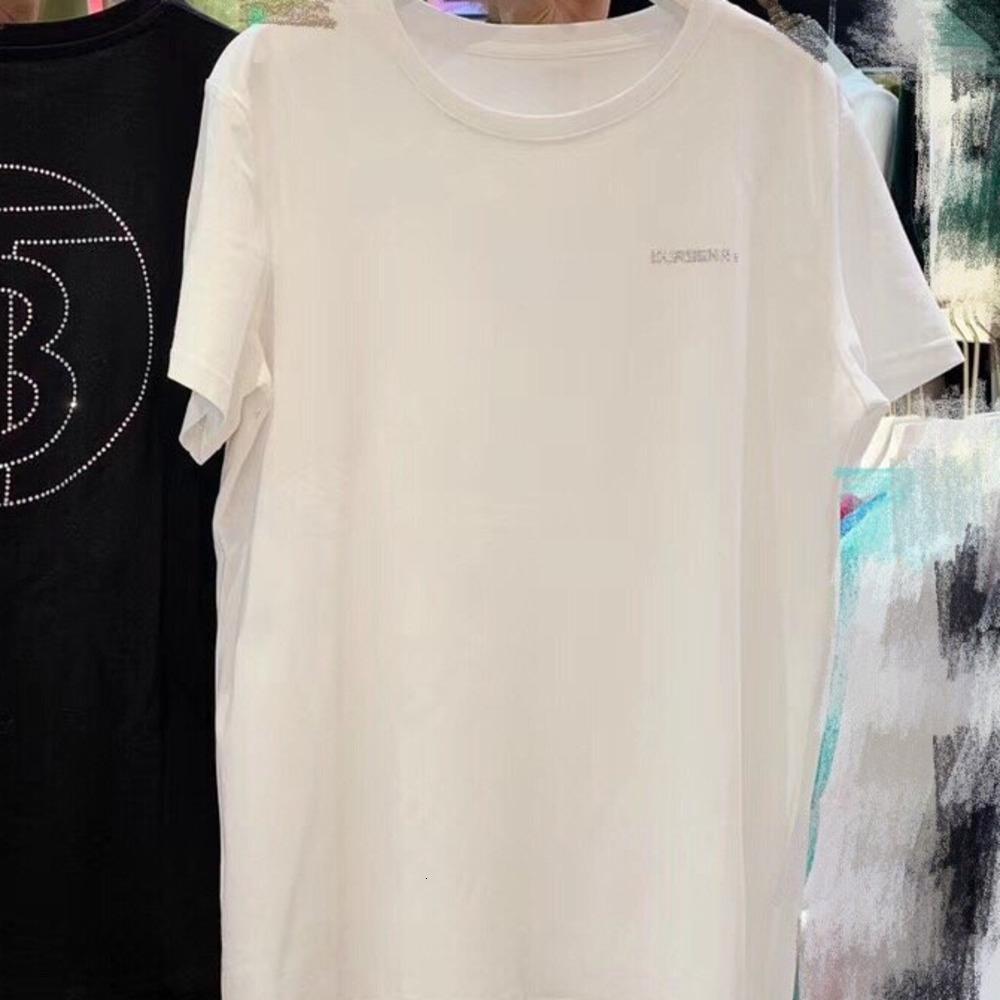 T-shirt das mulheres Moda Casual T-shirt Tamanho um tamanho confortável quente WSJ002 # 112607 shopping05