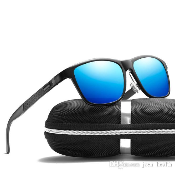 gafas de sol polarizantes que montan las mujeres hombres del diseñador de la marca UV400 gafas de sol del deporte para hombre de gafas de sol