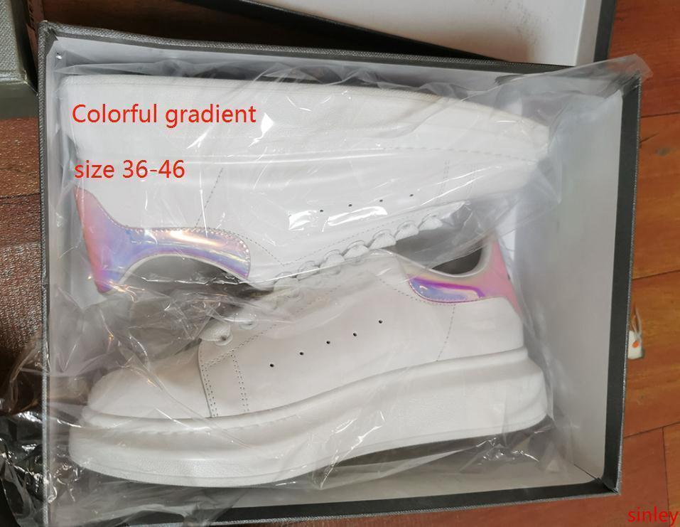 mens nova forma das mulheres de luxo branca plataforma de couro sapatos baixos sapatos casuais tênis Pink Lady Red preto com shuzsdw4559e #